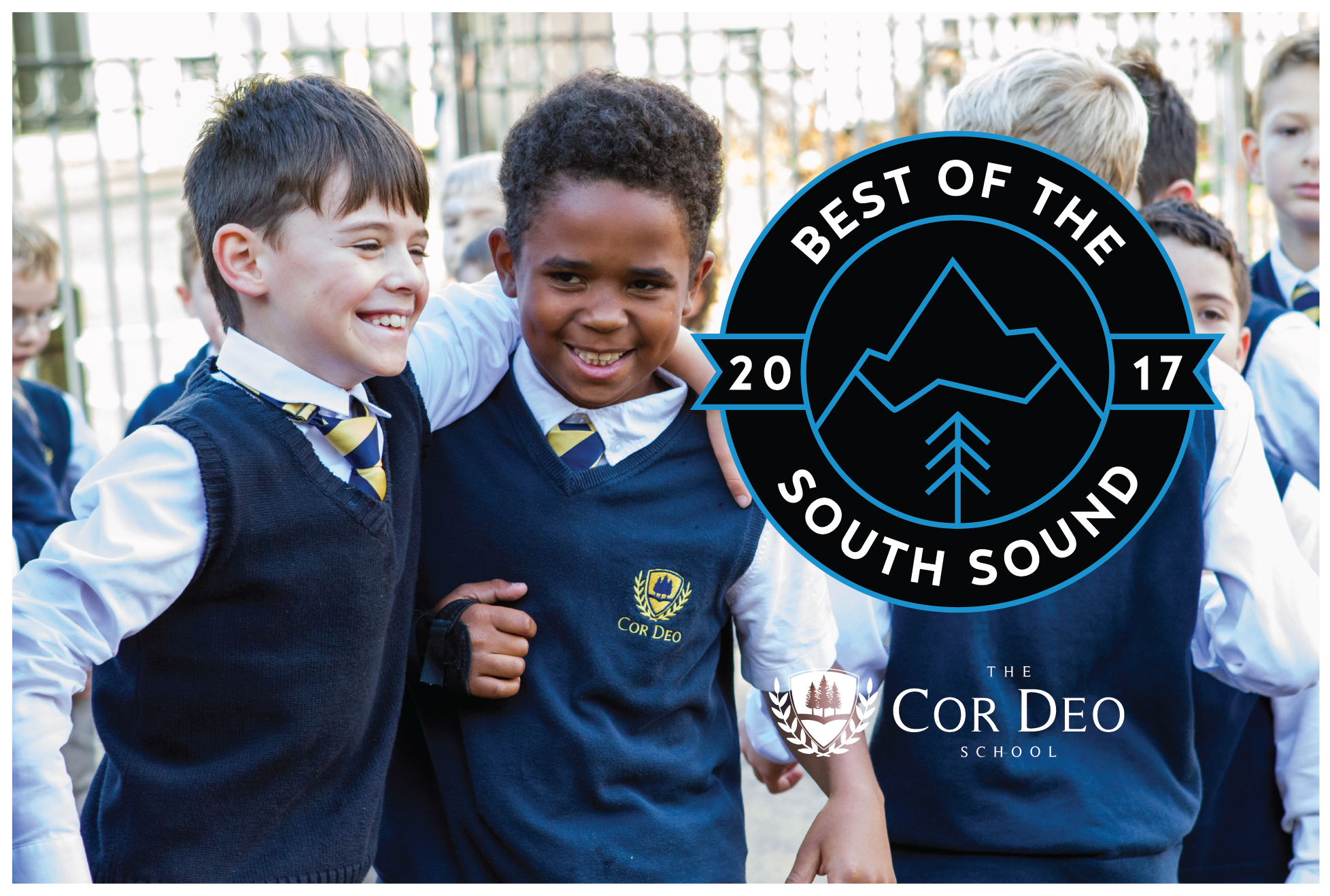 Voted Best Private Elementary in the South Sound 2017