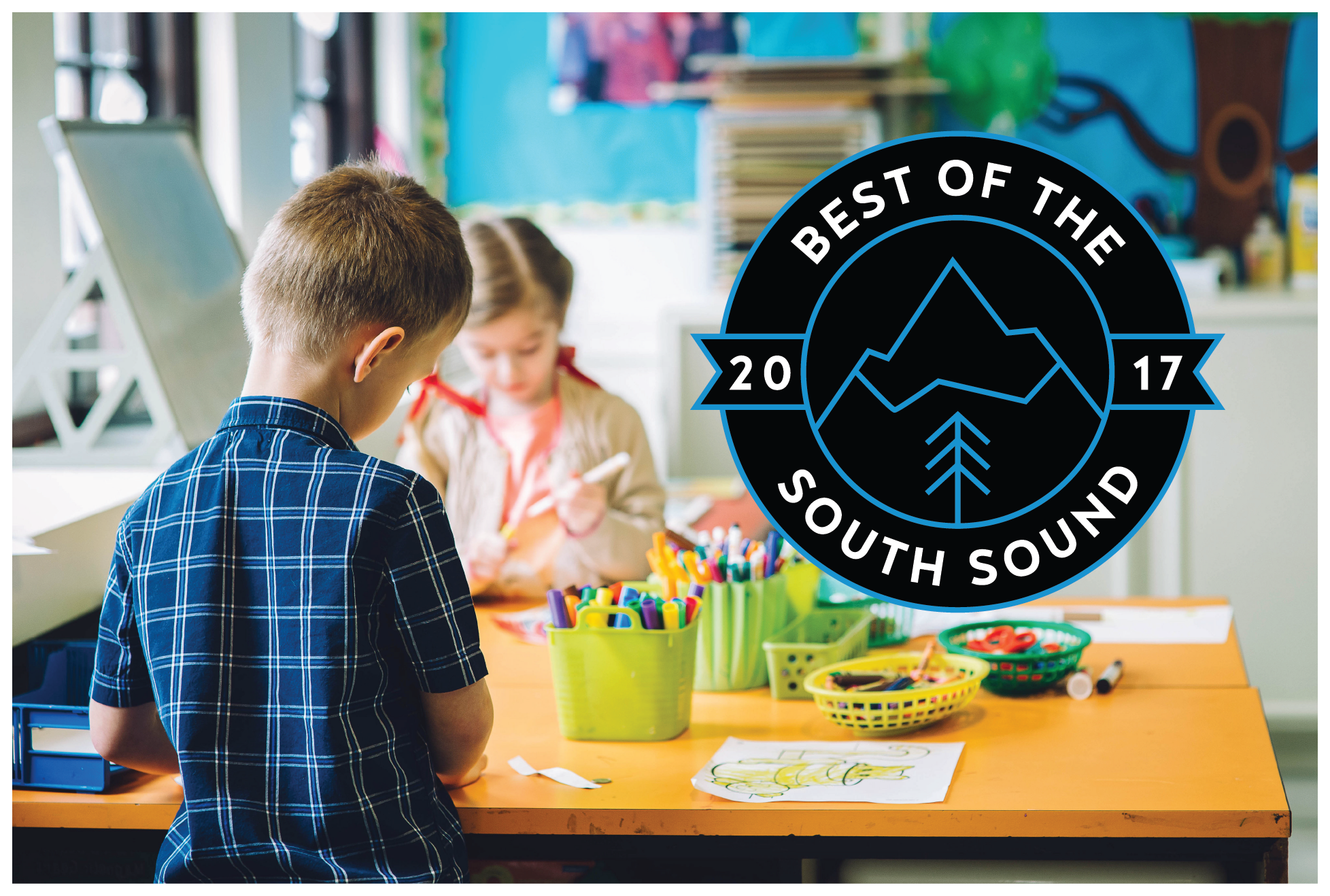 Voted Best Preschool in the South Sound 2017
